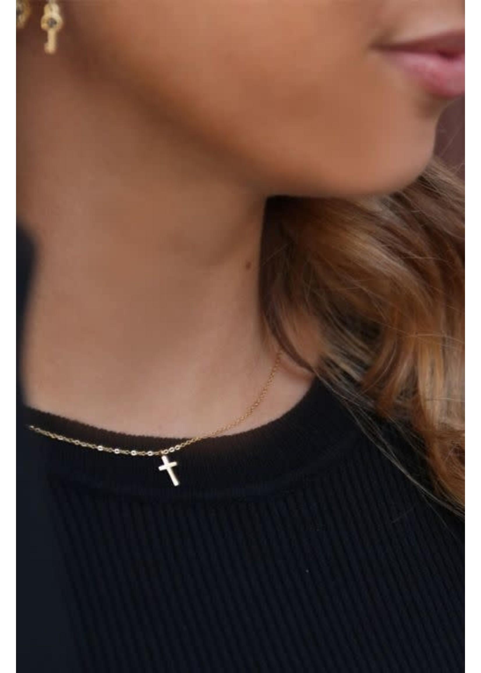 My Jewellery Klein kettinkje met kruisje