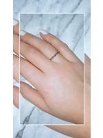 My Jewellery Ringetje van elastiek maxi ZILVER