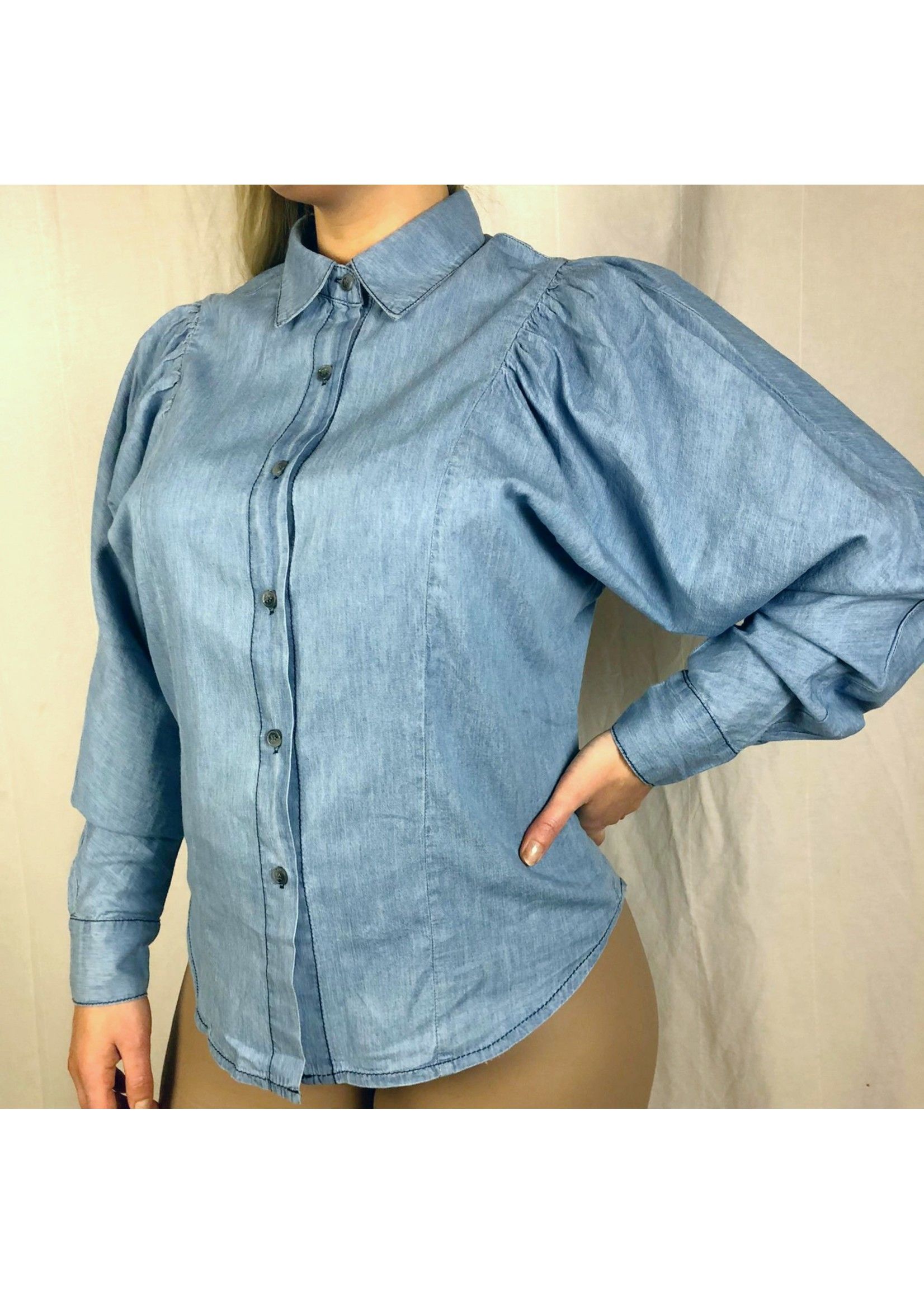 Ladybugs Denim blouse LIEKE