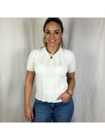 Ladybugs Shirtje strepen SANDY wit