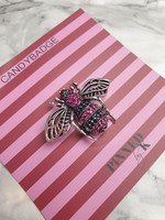 Pinned by K Bee pink stone