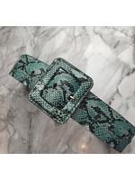 Pinned by K Riem snake groen