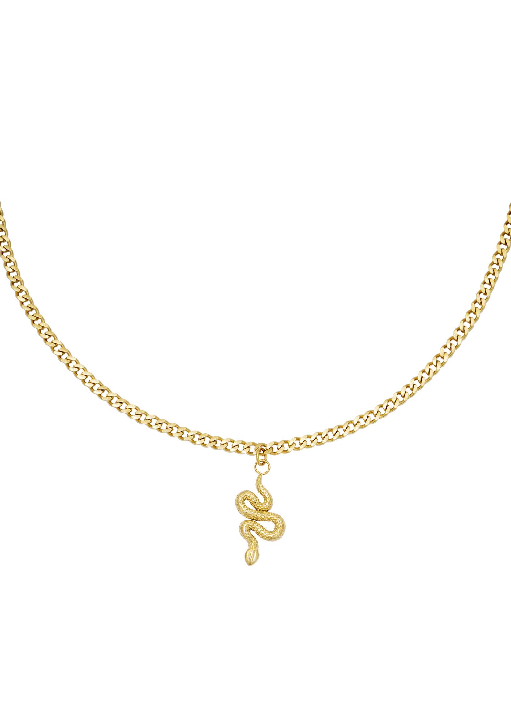 Ladybugs Ketting Shiny Serpent goud