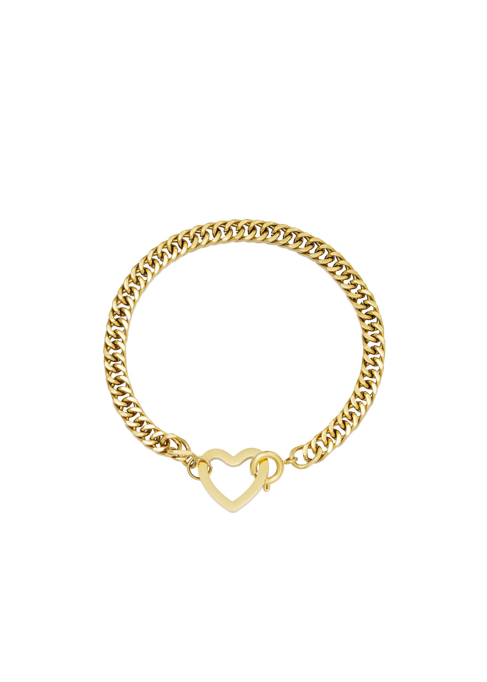 Ladybugs Armband lovely goud