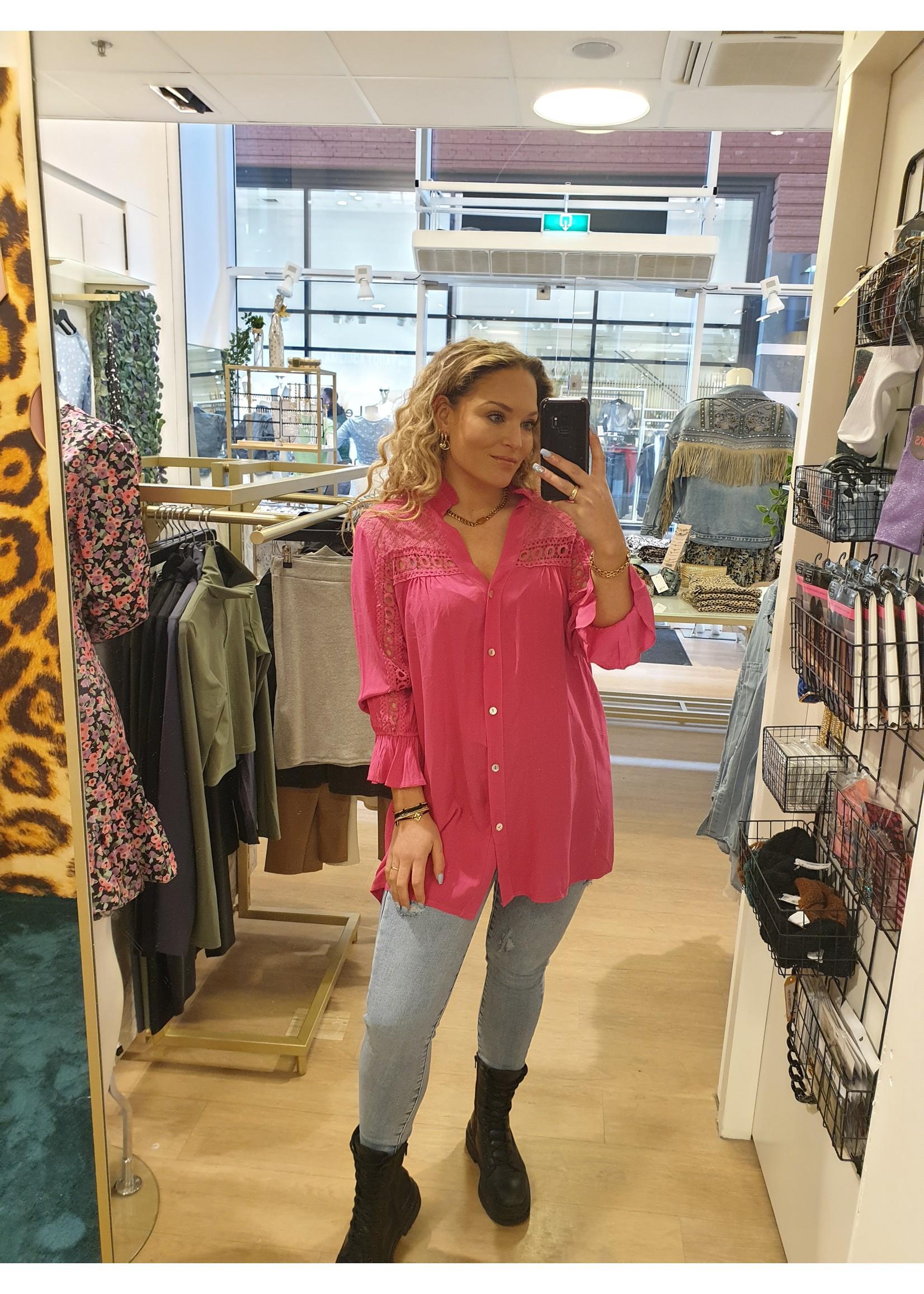 Ladybugs Bibi blouse FUCHSIA