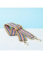 Pinned by K Strap figures blue yellow