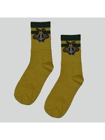 Pinned by K Socks glitter gold bee