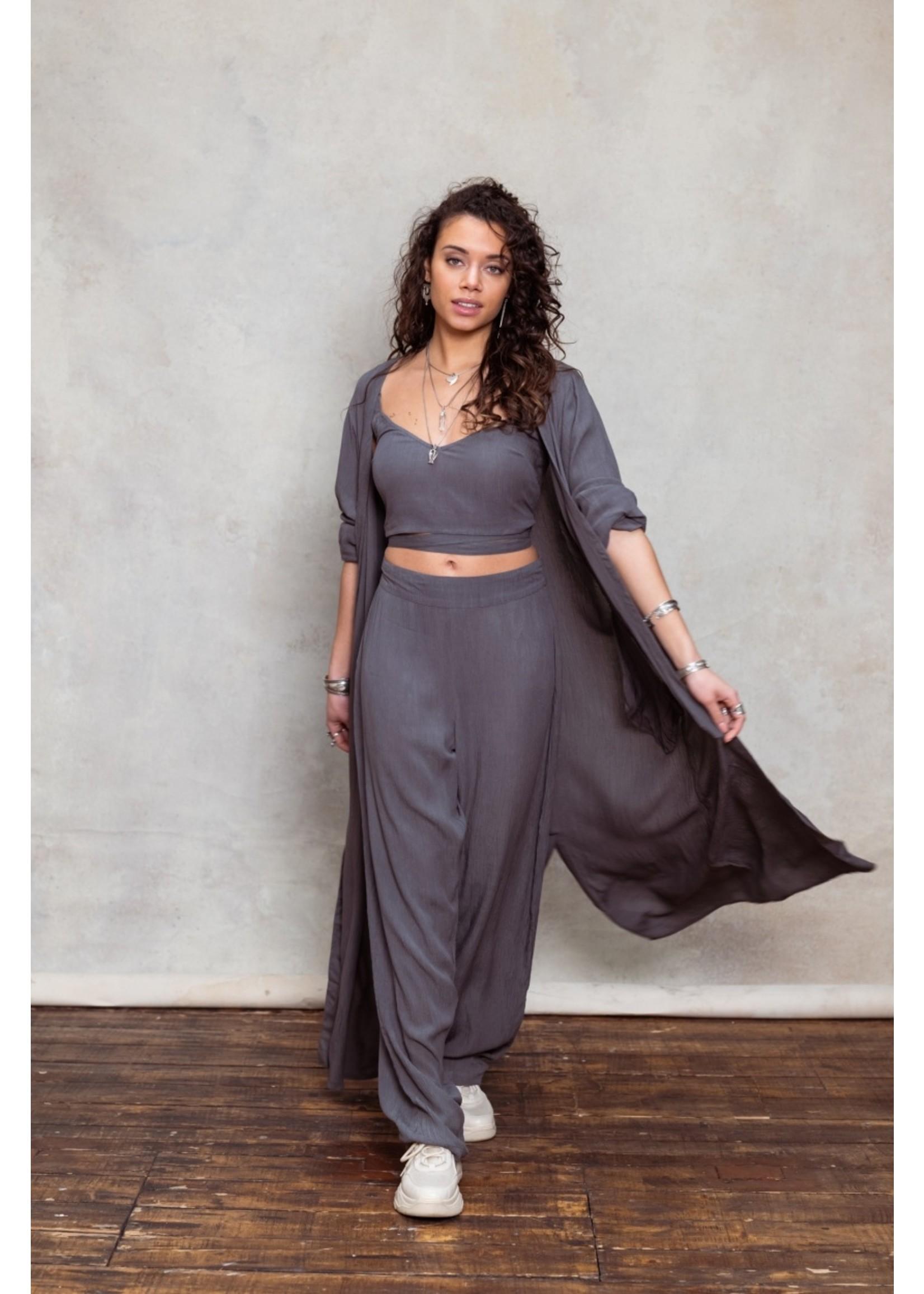 Moost Wanted Amora pants washed grey