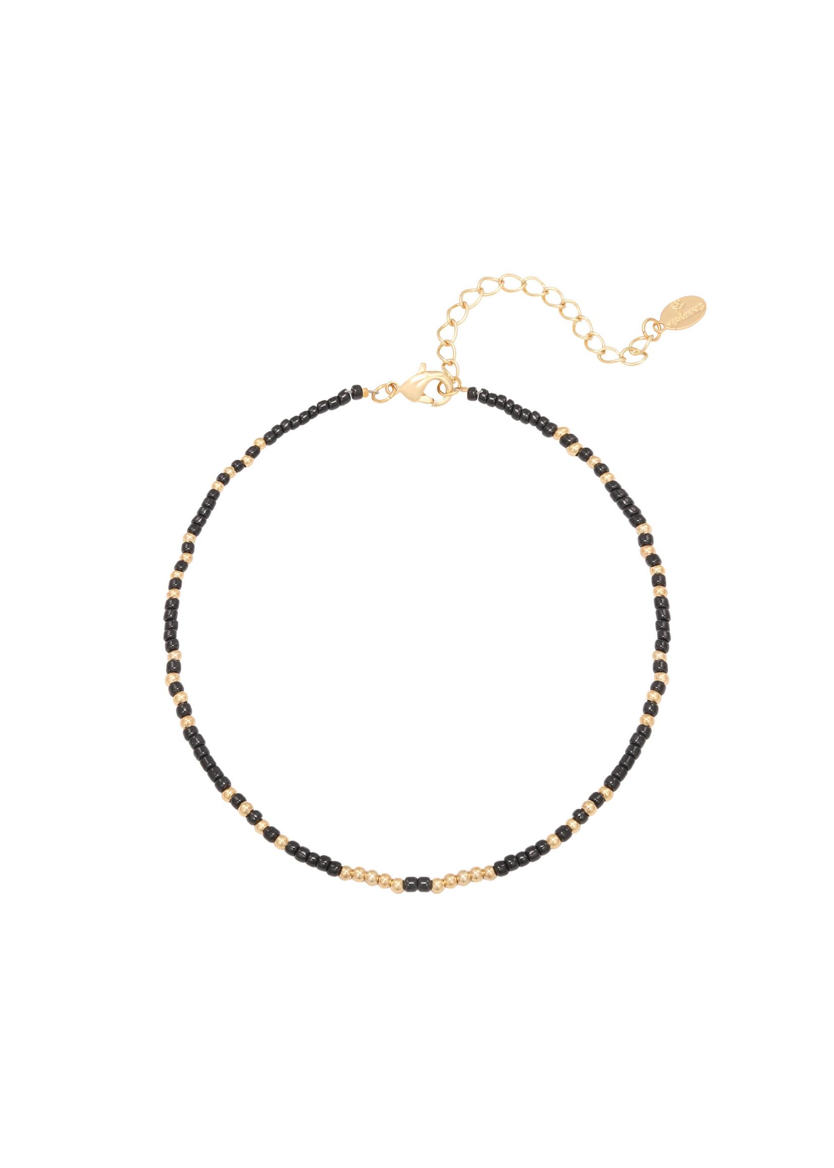 Ladybugs Enkelbandje Mystic beads