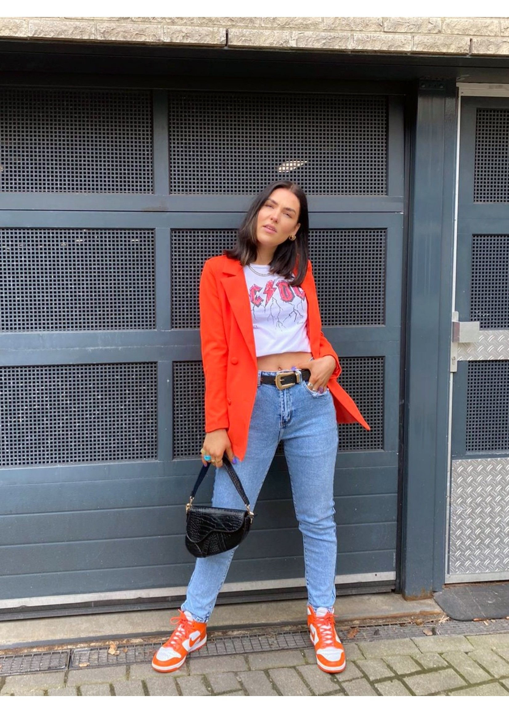 Ladybugs Queen hearts Mom jeans Pocket