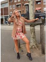 Ladybugs Lange blazer Ester LICHT BRUIN