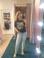 Ladybugs Slimfit high waist jeans Queen Hearts Suuzie