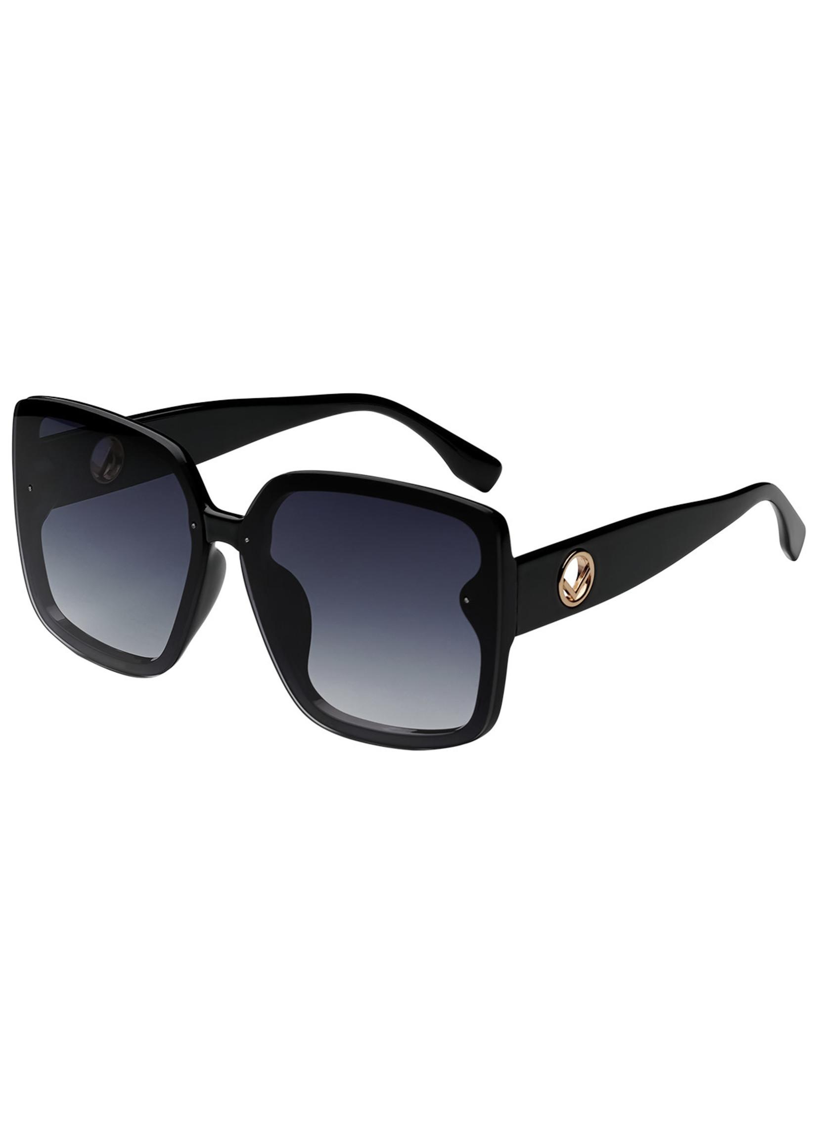 Ladybugs Vierkante zonnebril zwart