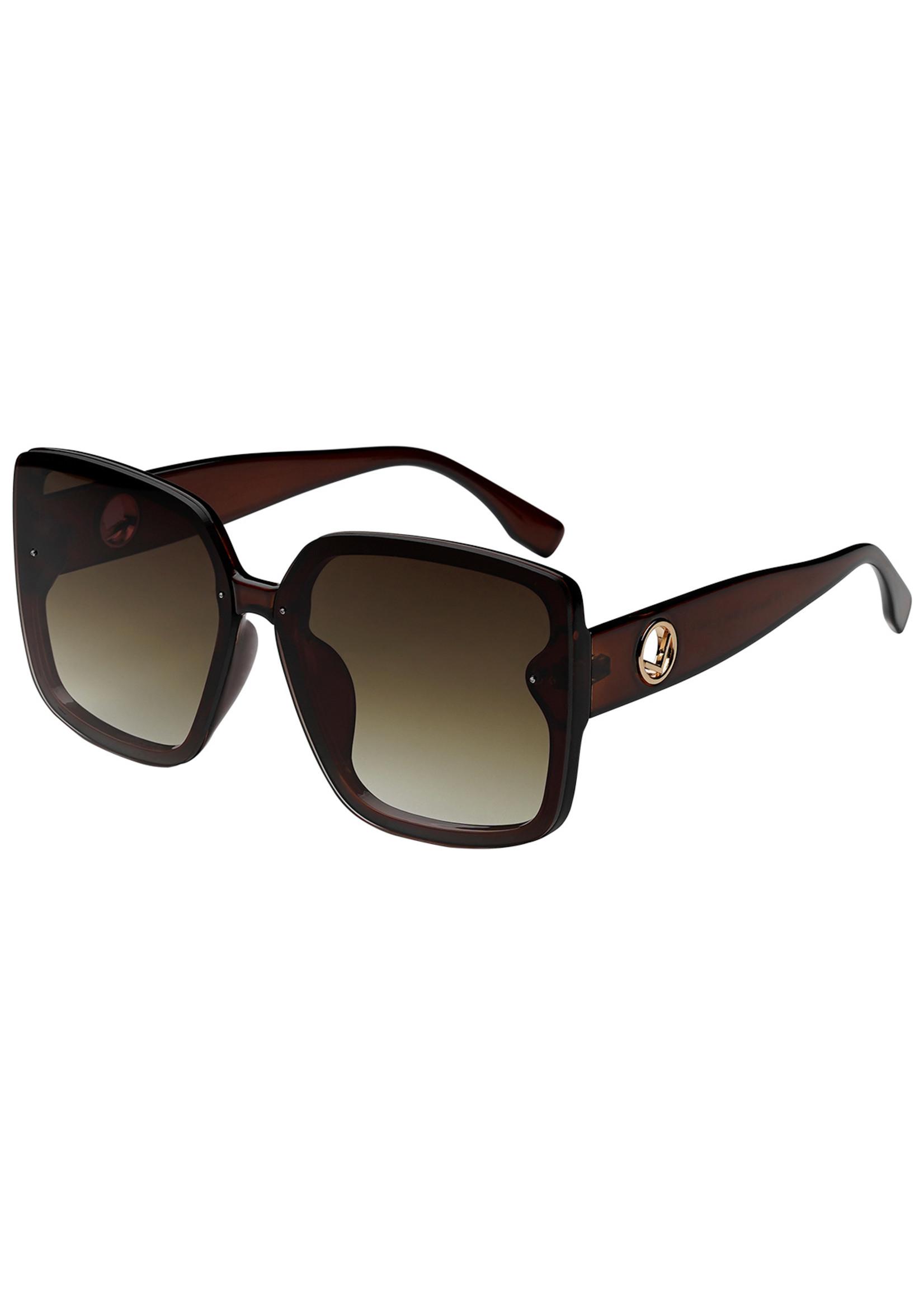 Ladybugs Vierkante zonnebril bruin
