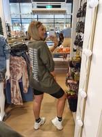 Ladybugs Oversized shirt dress Marlijn ARMY