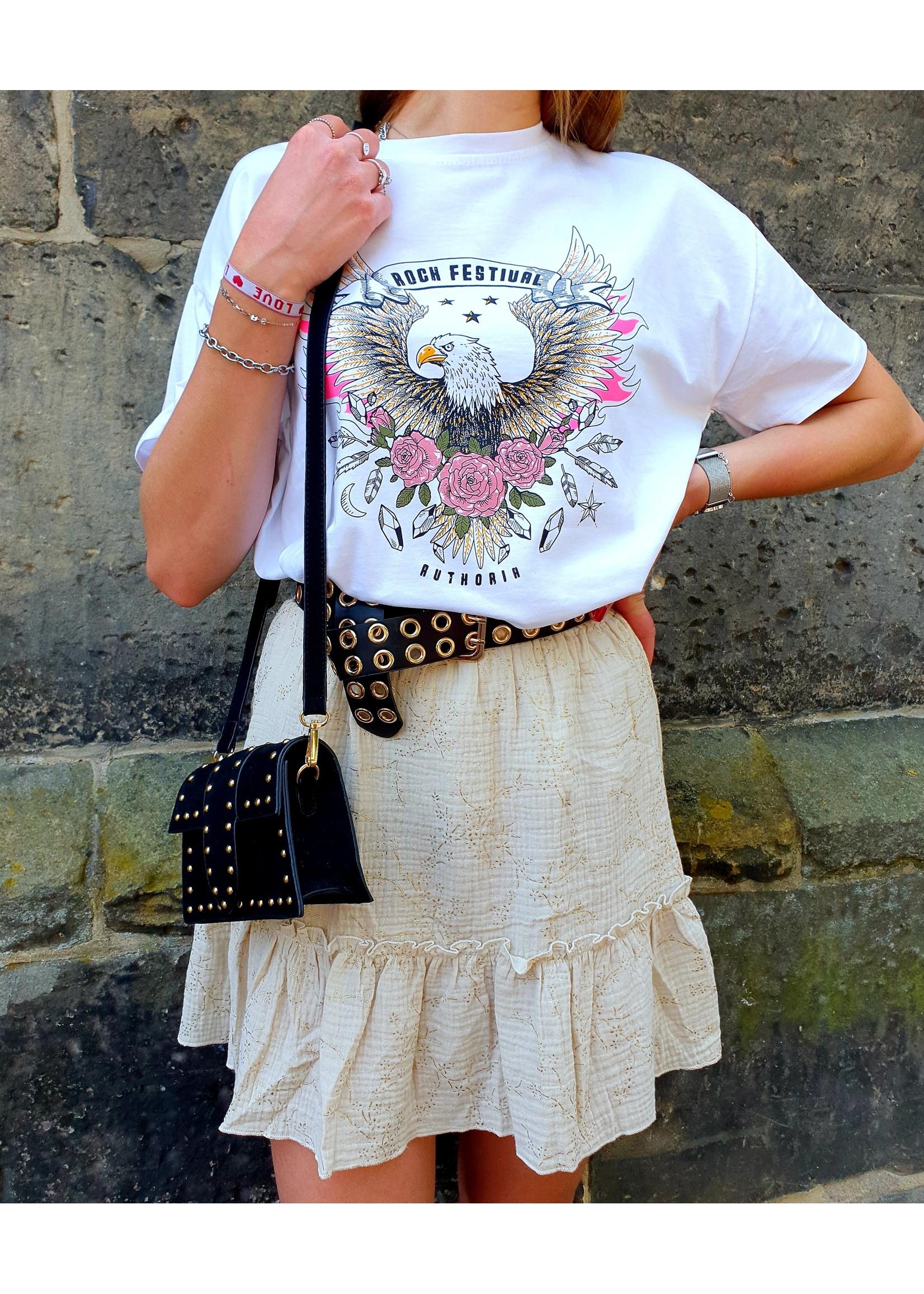 Ladybugs Festival shirt Rosa WIT
