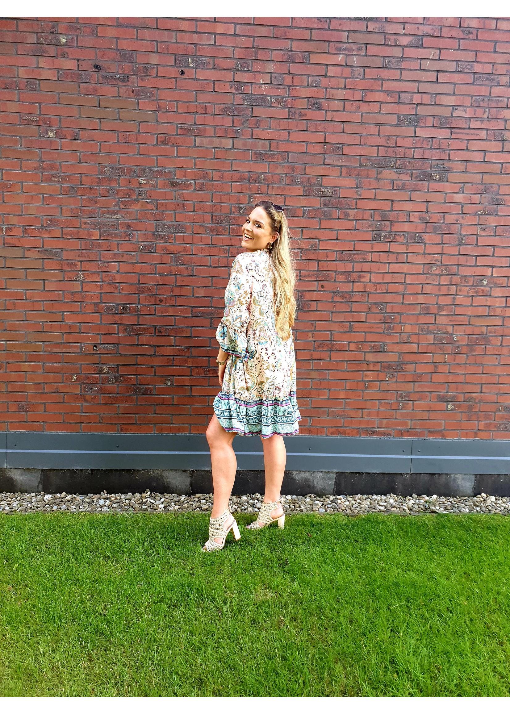 Ladybugs Oversized jurk paisley print Julie ROZE