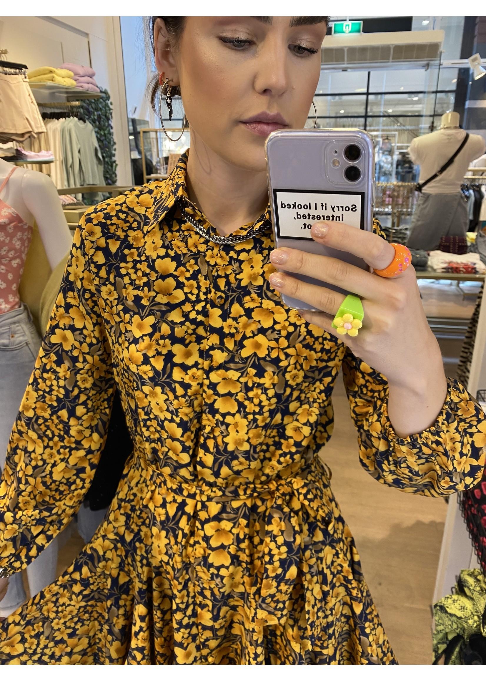 Ladybugs Flower dress Shanna OKER GEEL