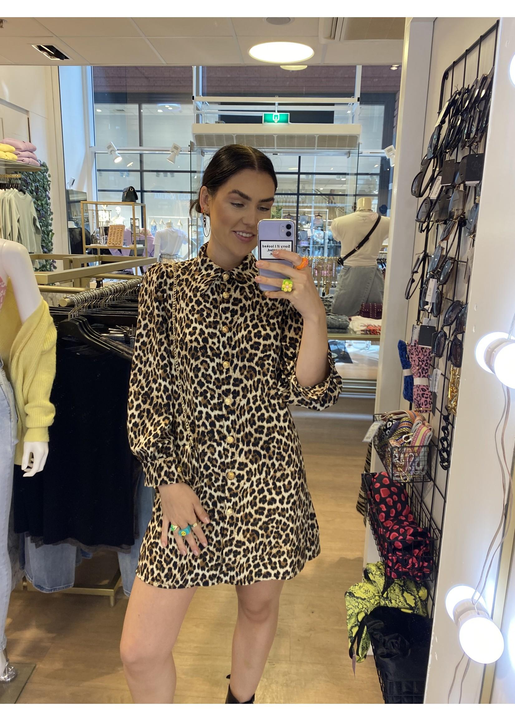 Ladybugs Blouse jurk met tas Yara PANTER