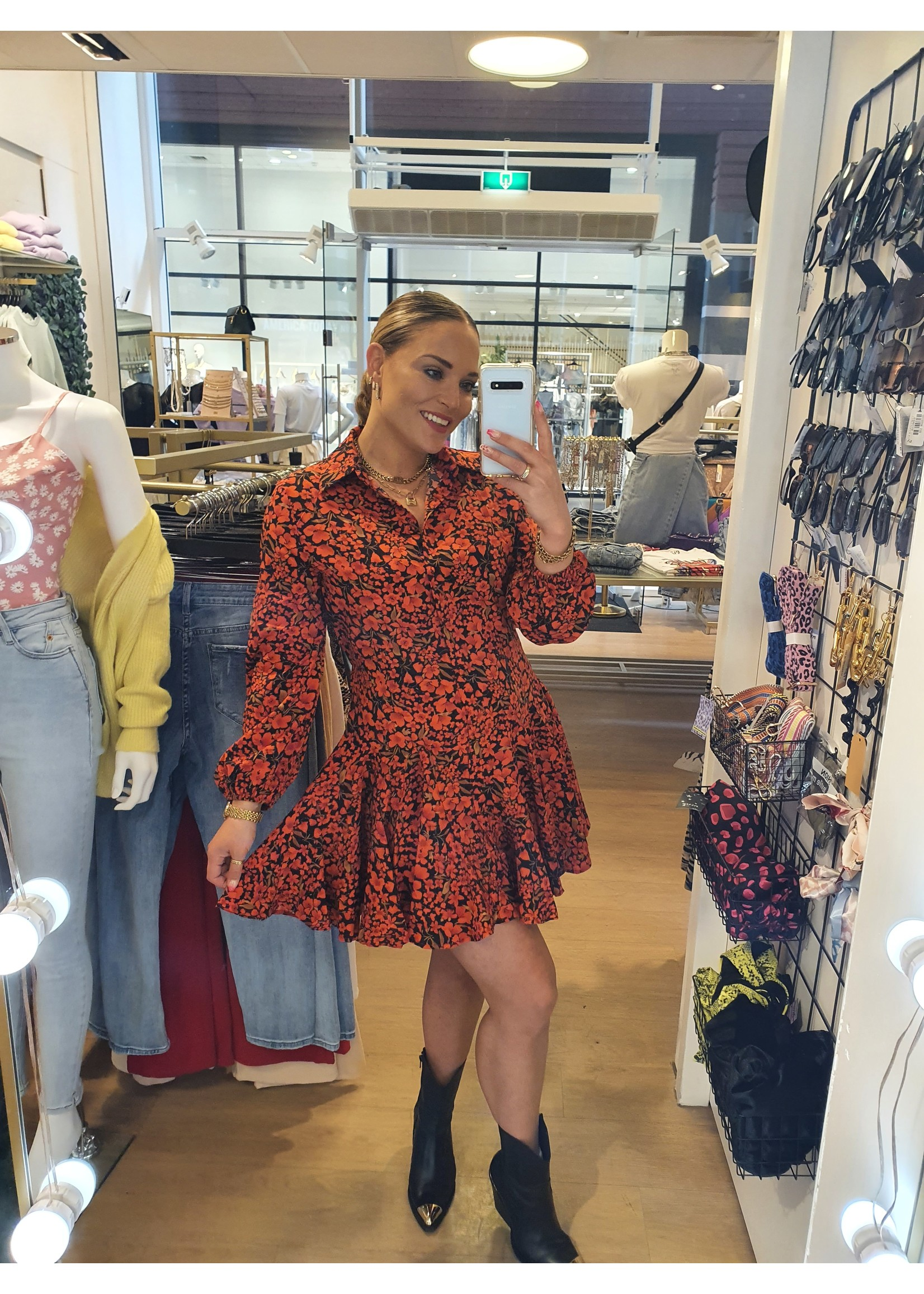 Ladybugs Flower dress Shanna ROOD