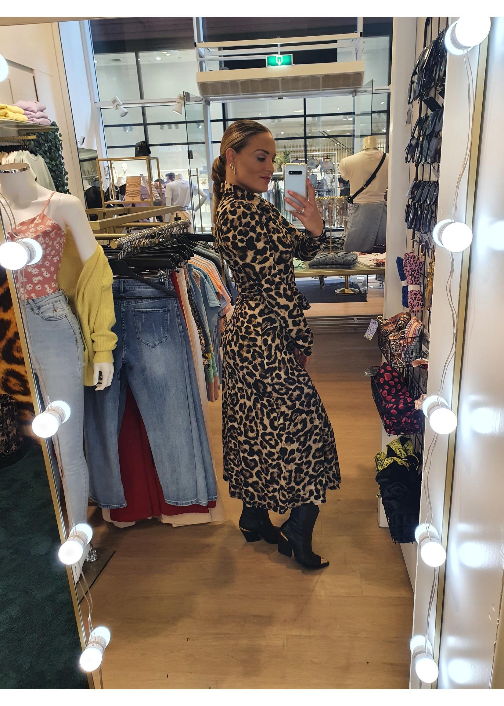 Ladybugs Lange travel jurk Jaimy PANTER