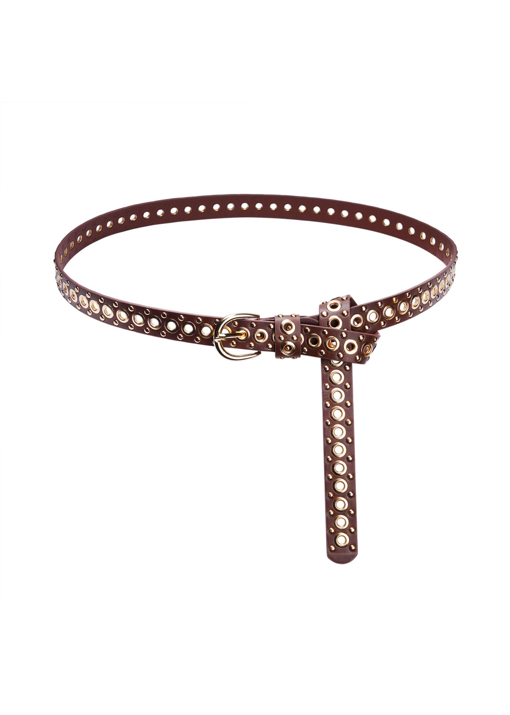 Ladybugs Belt tied up BRUIN/GOUD