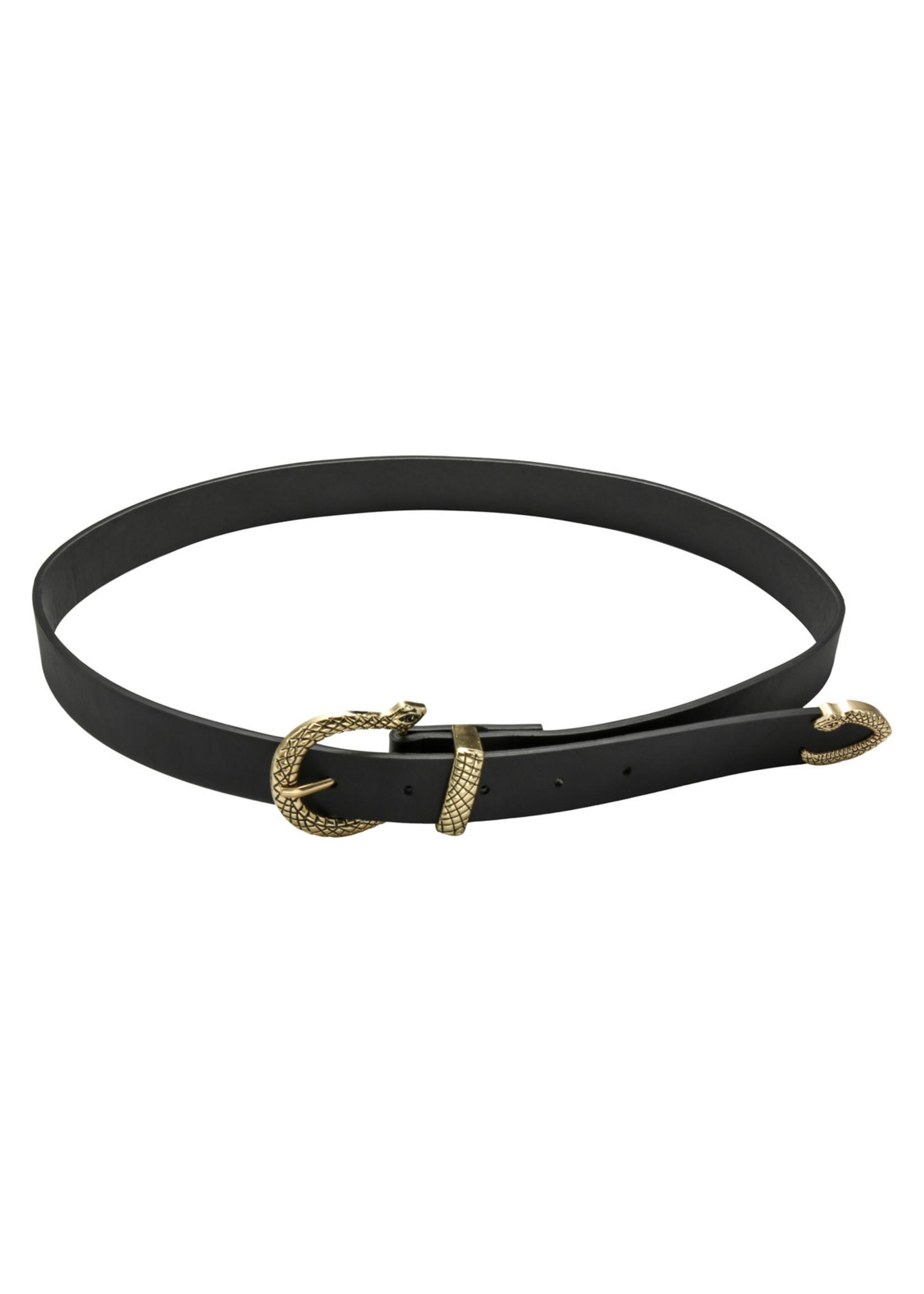Ladybugs Belt snake ZWART/GOUD