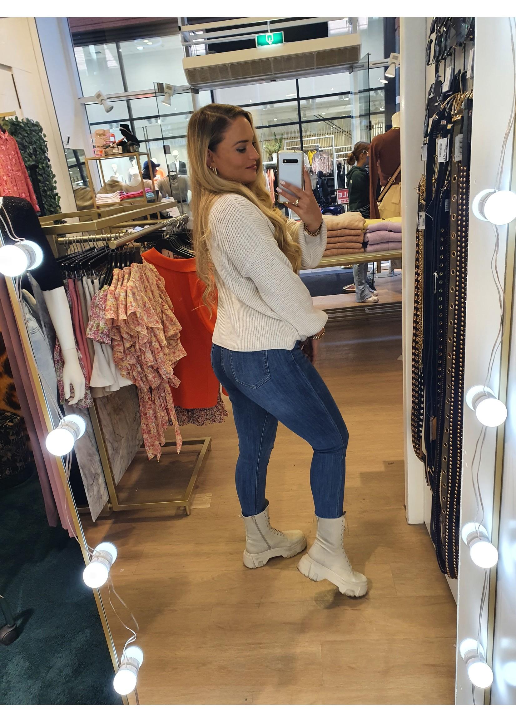 Ladybugs Basic high waist jeans Toxic AURYN