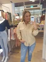 Ladybugs Corduroy blouse Lindsey BEIGE