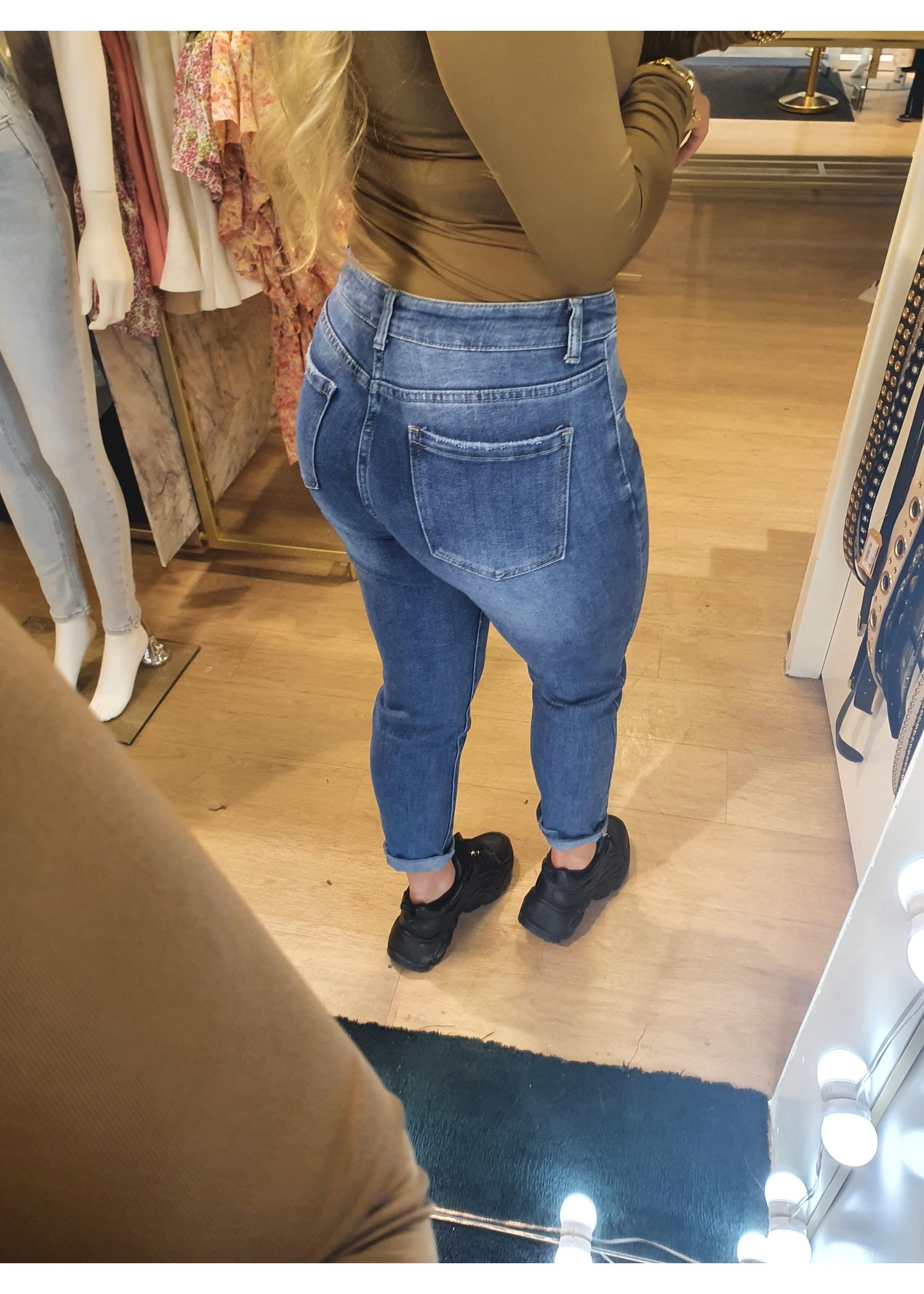 Ladybugs Mom jeans super stretch Stephanie BLAUW