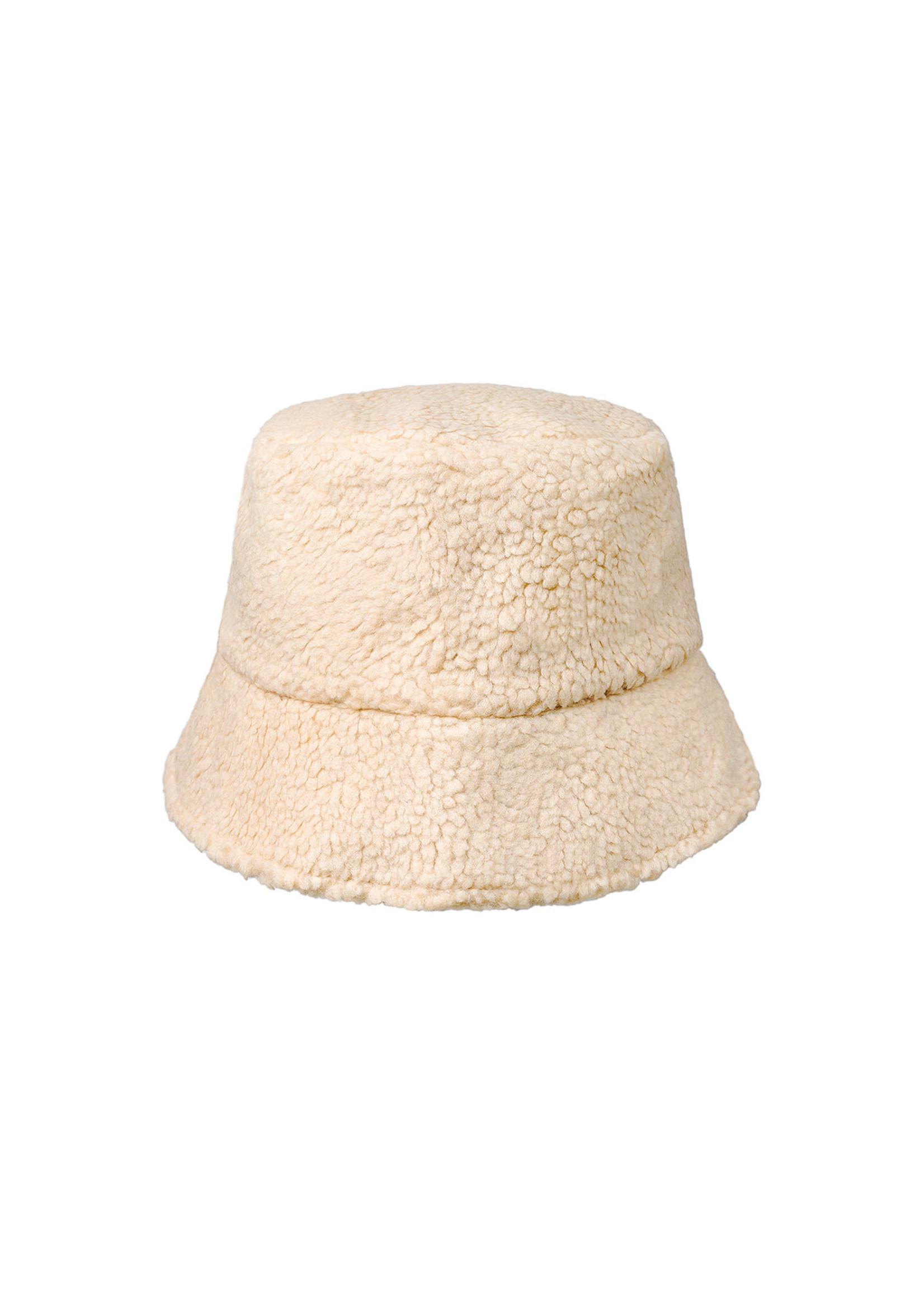 Ladybugs Bucket hat teddy OFF WHITE