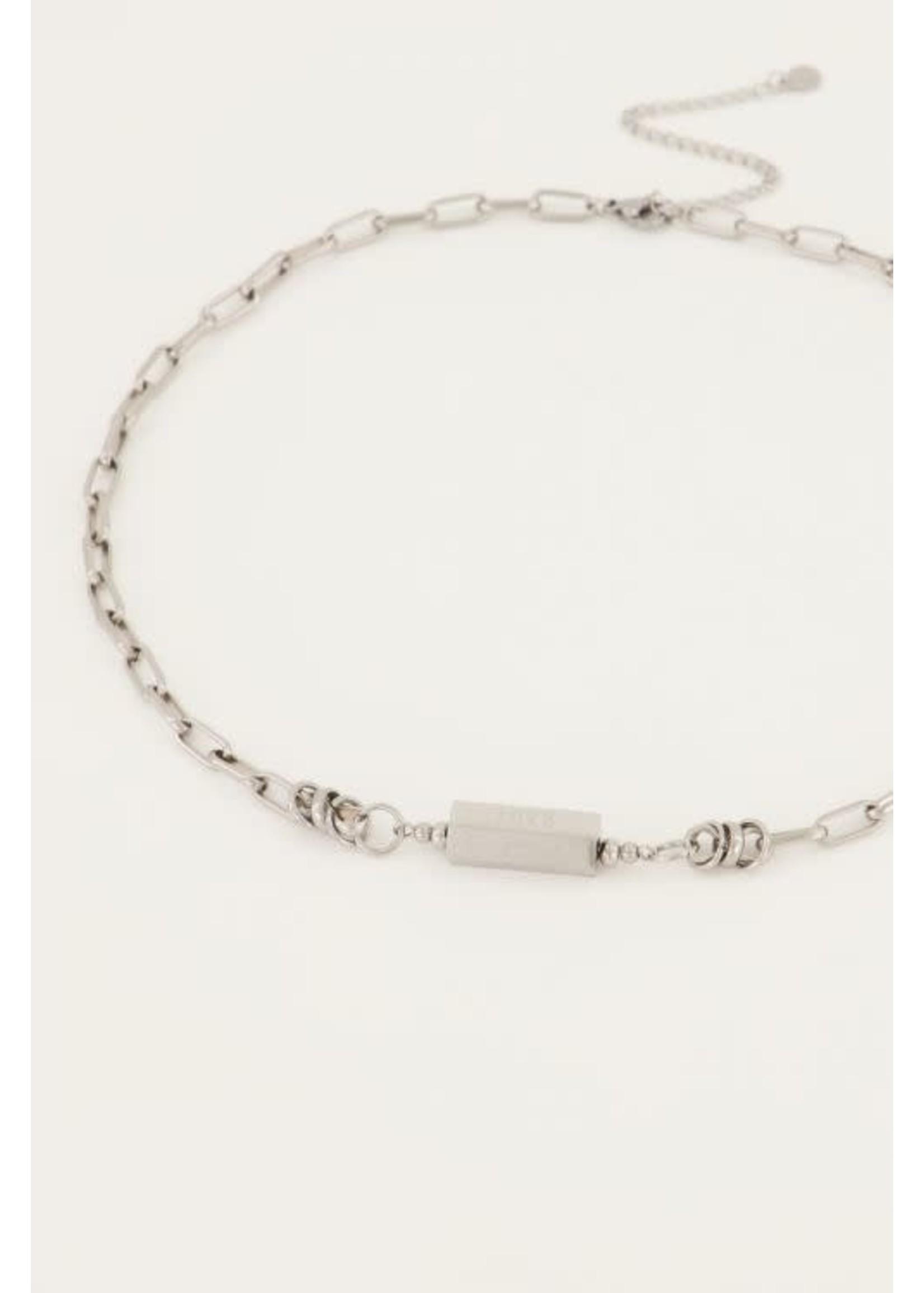 My Jewellery Schakelketting met love bedel