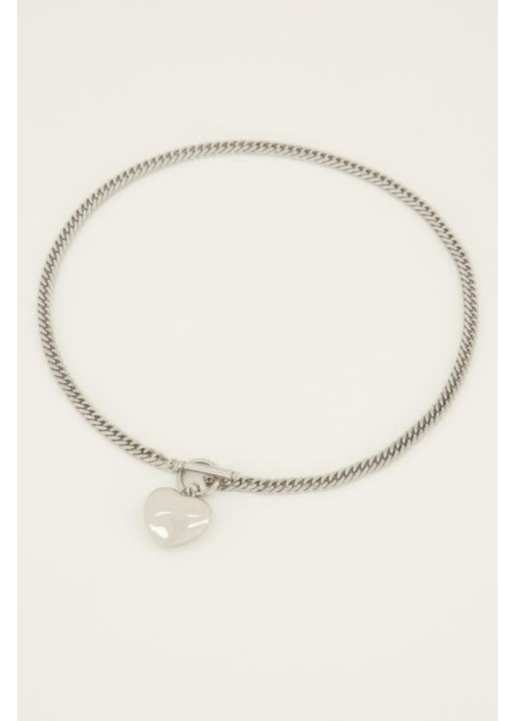 My Jewellery Schakelketting hart