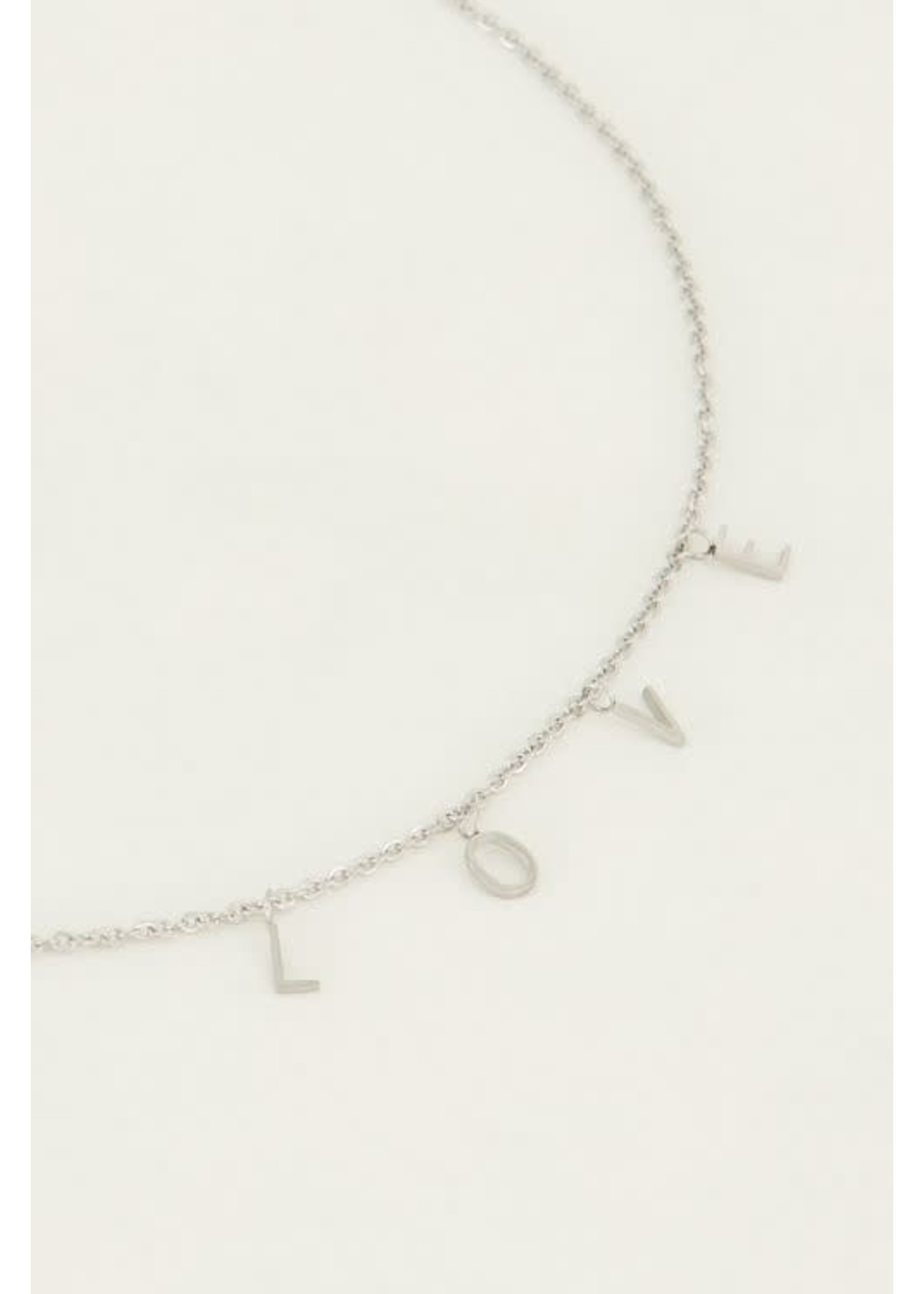 My Jewellery Ketting letters love
