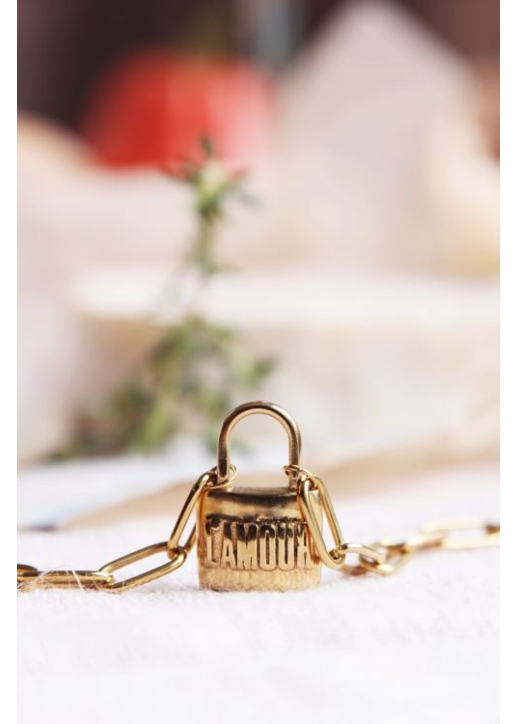 My Jewellery Schakelketting love lock