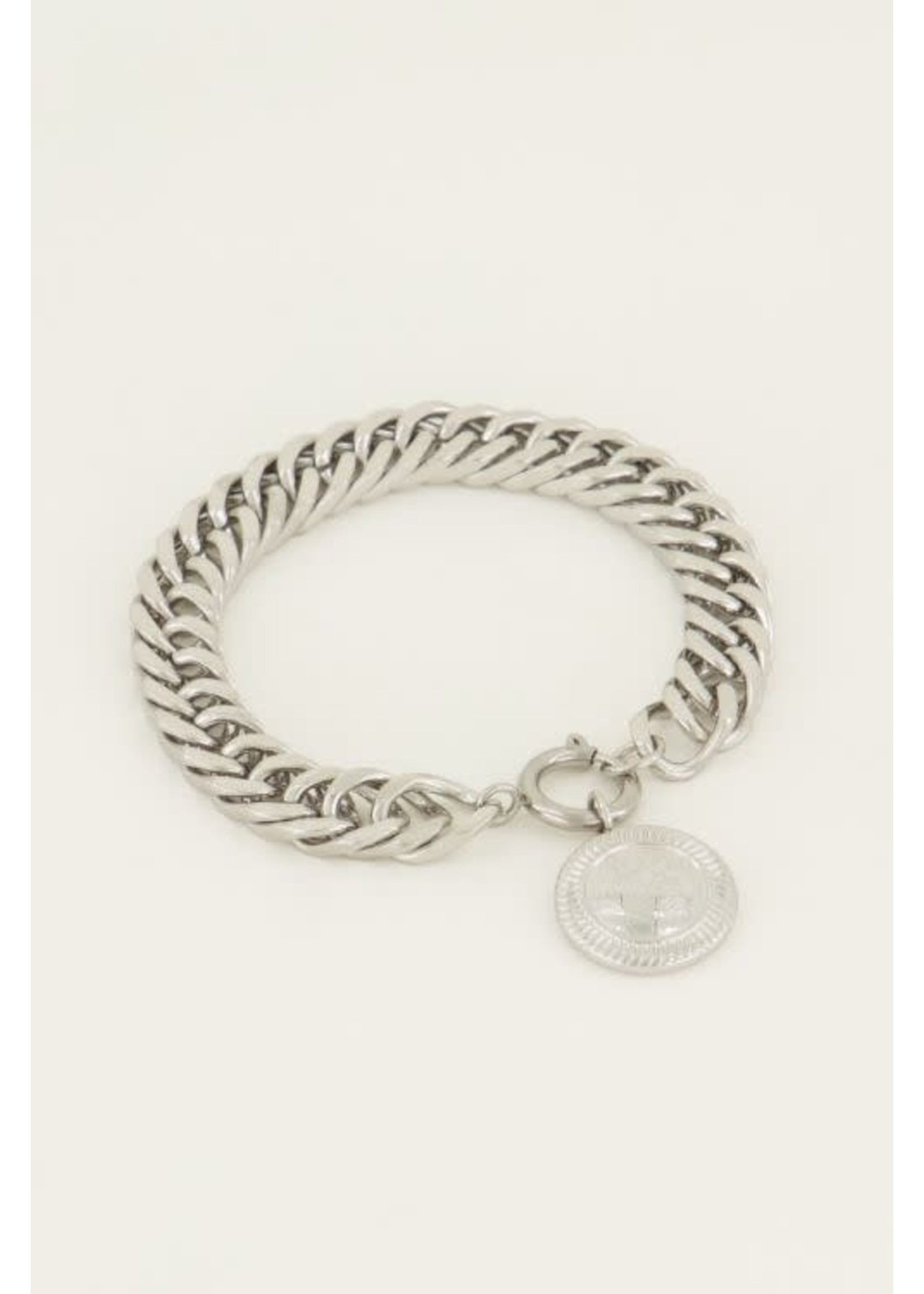 My Jewellery Schakelarmband munt