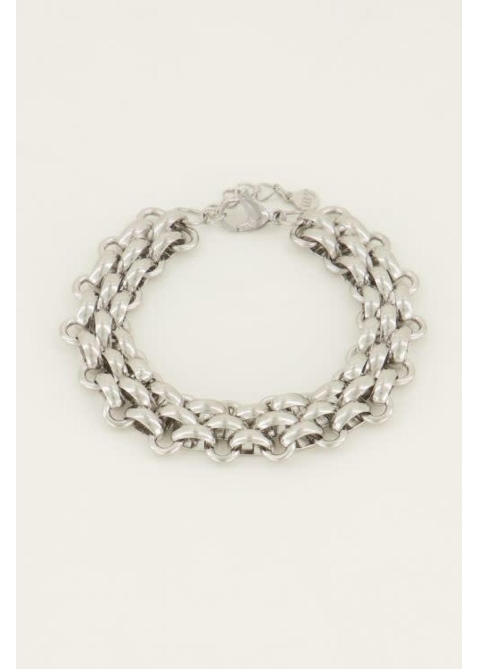 My Jewellery Armband schakels groot