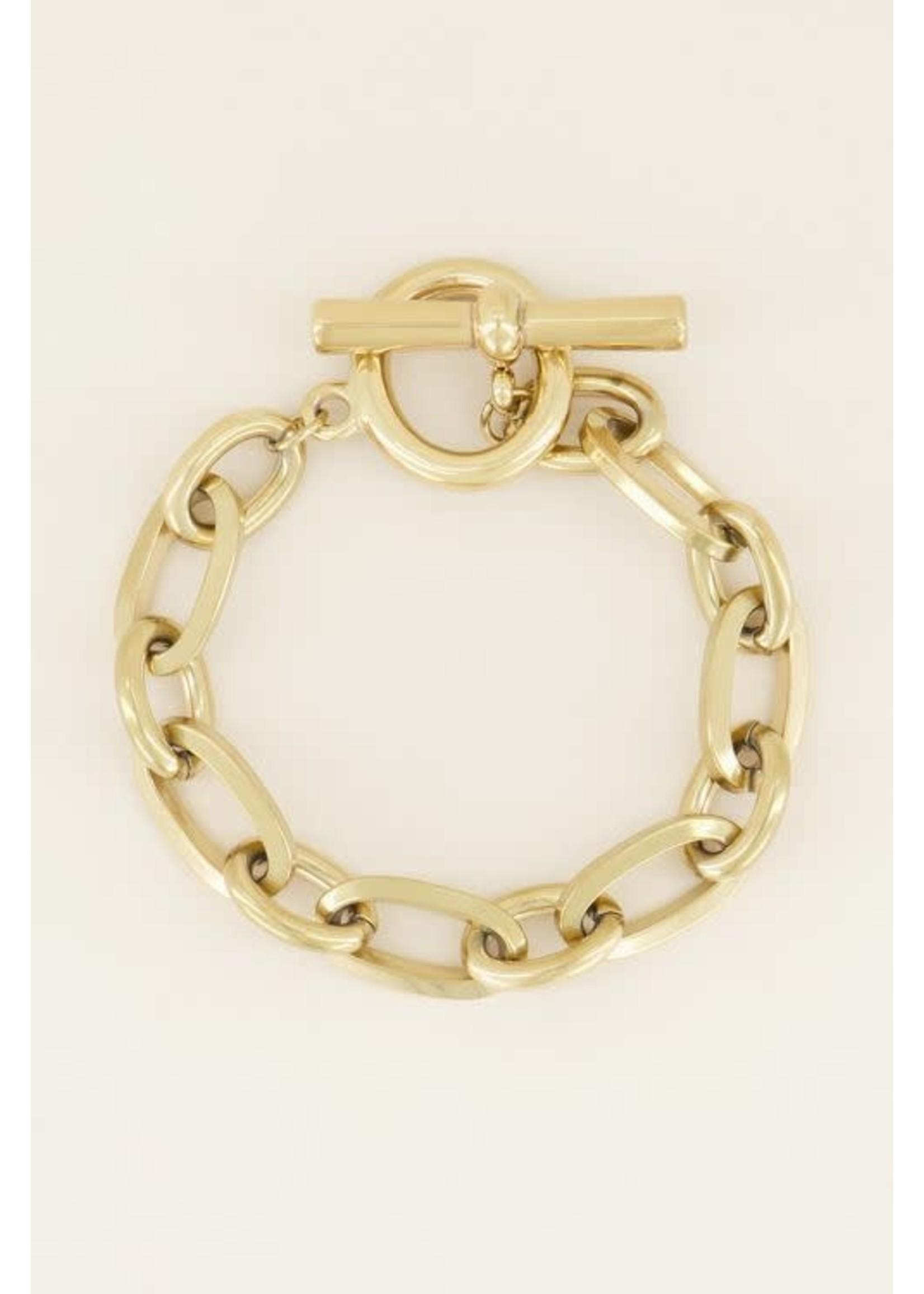 My Jewellery Schakelarmband kapittelslot