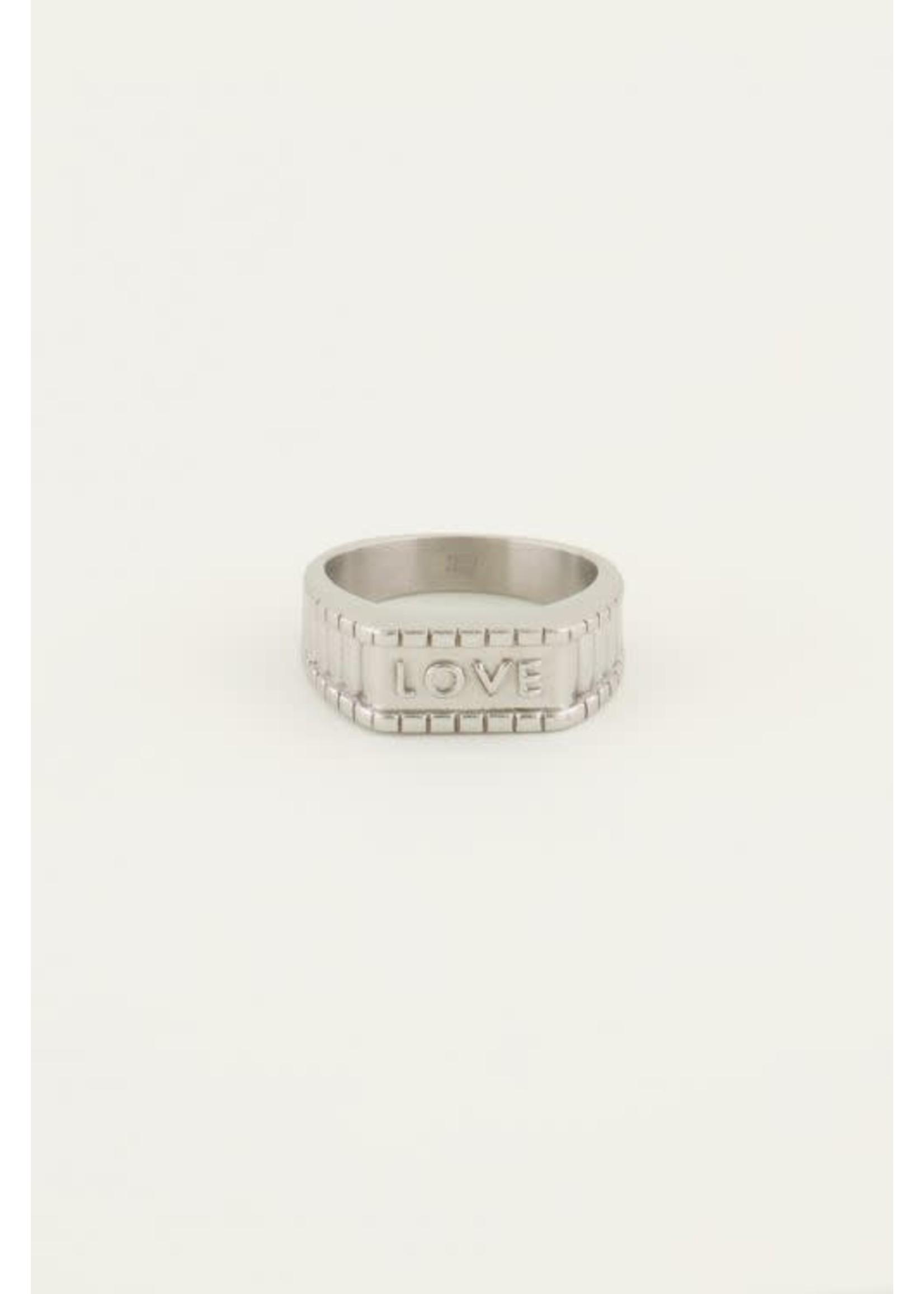 My Jewellery Zegelring love