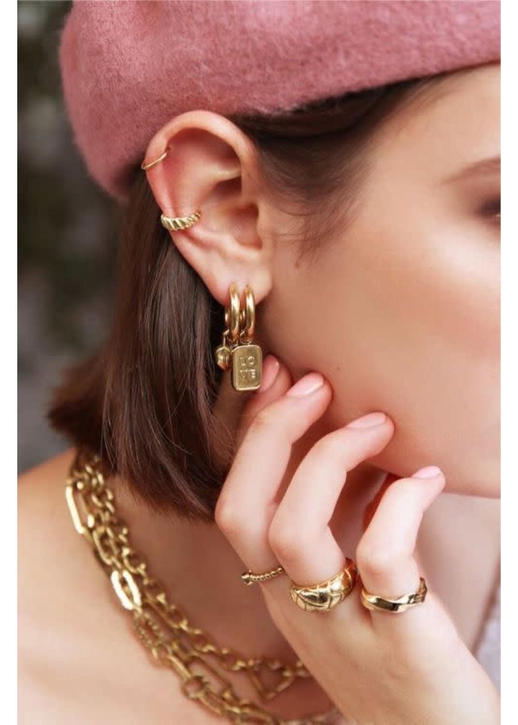 My Jewellery Oorringen love plaatje