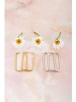 My Jewellery Rechthoekige oorhangers groot
