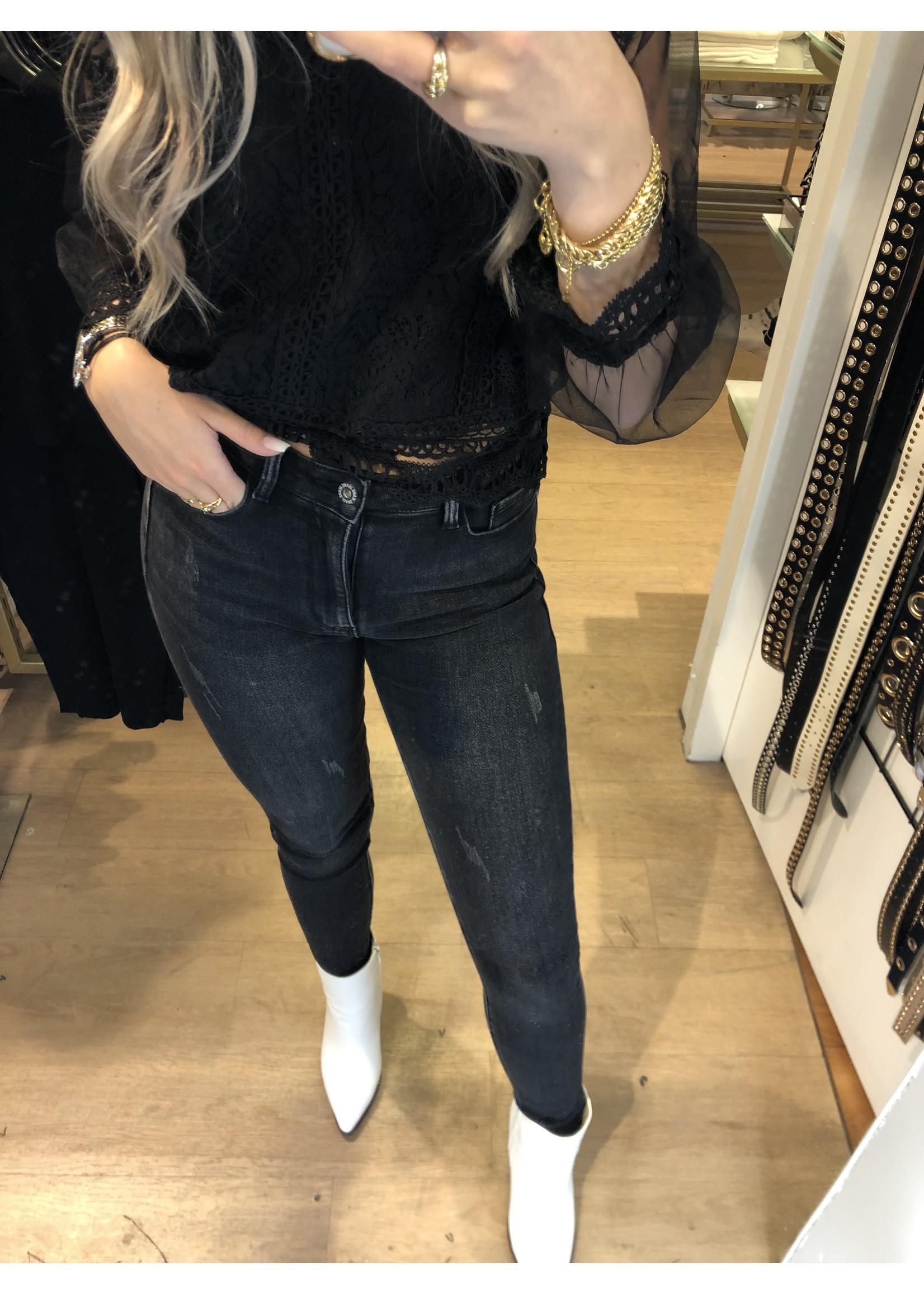 Ladybugs Skinny jeans Estelle ZWART