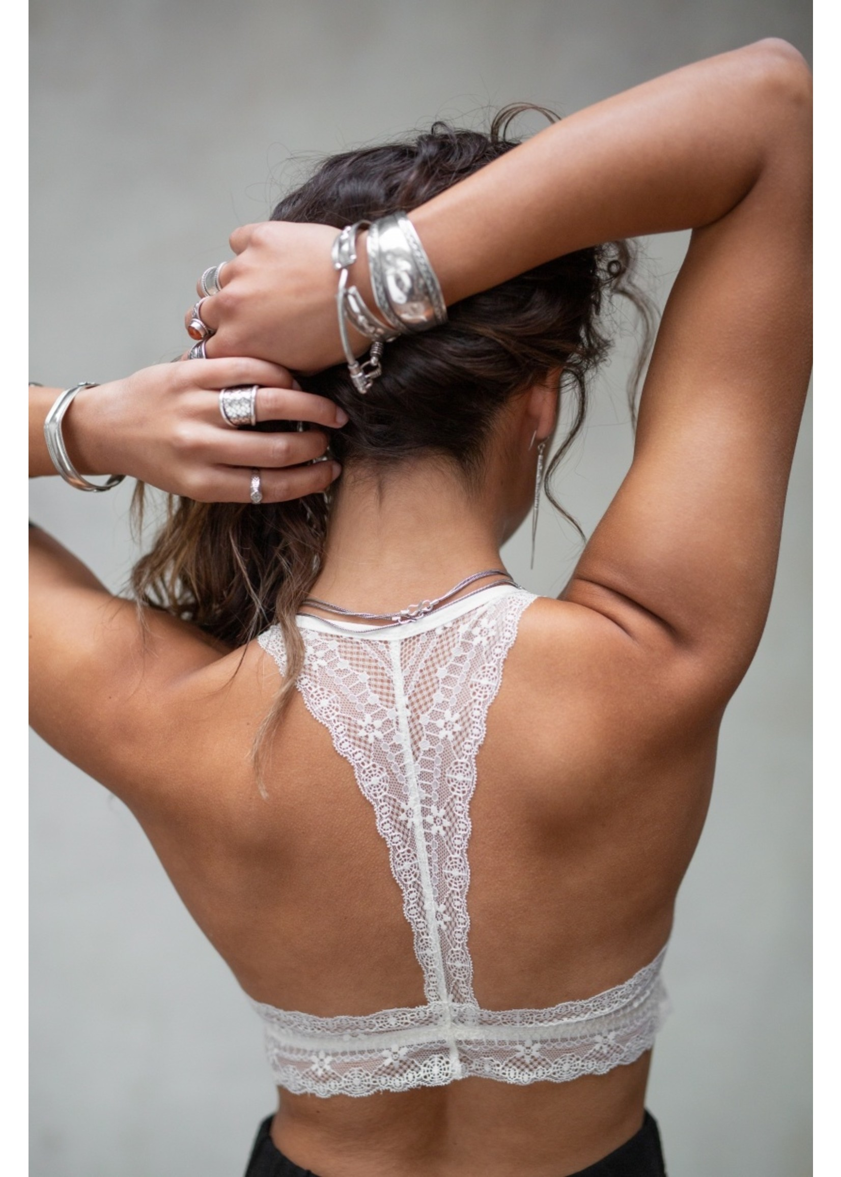 Moost Wanted Lou Bralette OFF WHITE