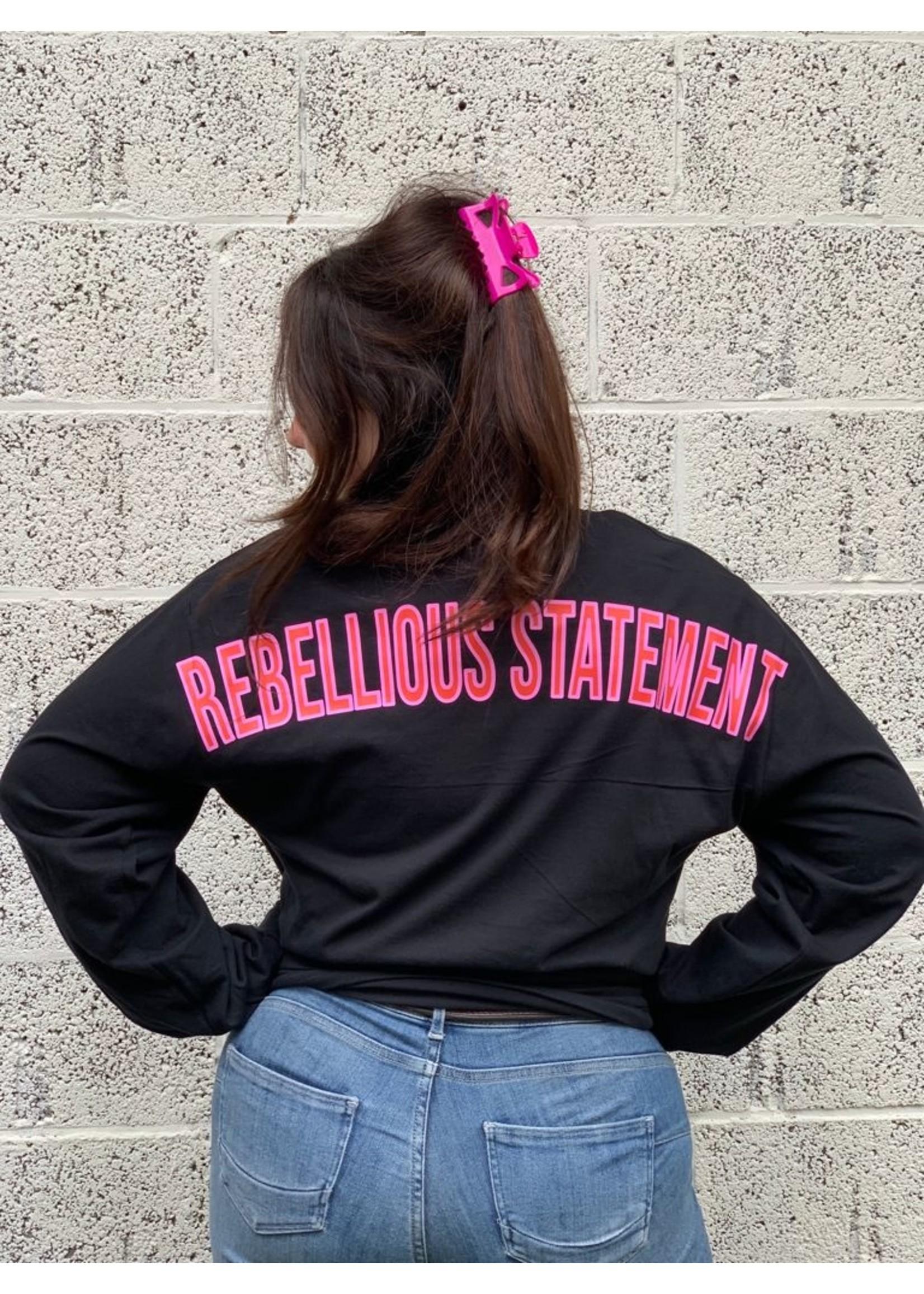 Ladybugs Branding sweatshirt back print ROZE/ROOD