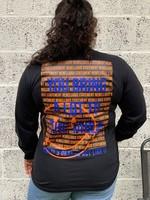 Ladybugs Bring a lot sweatshirt back print ORANJE/BLAUW