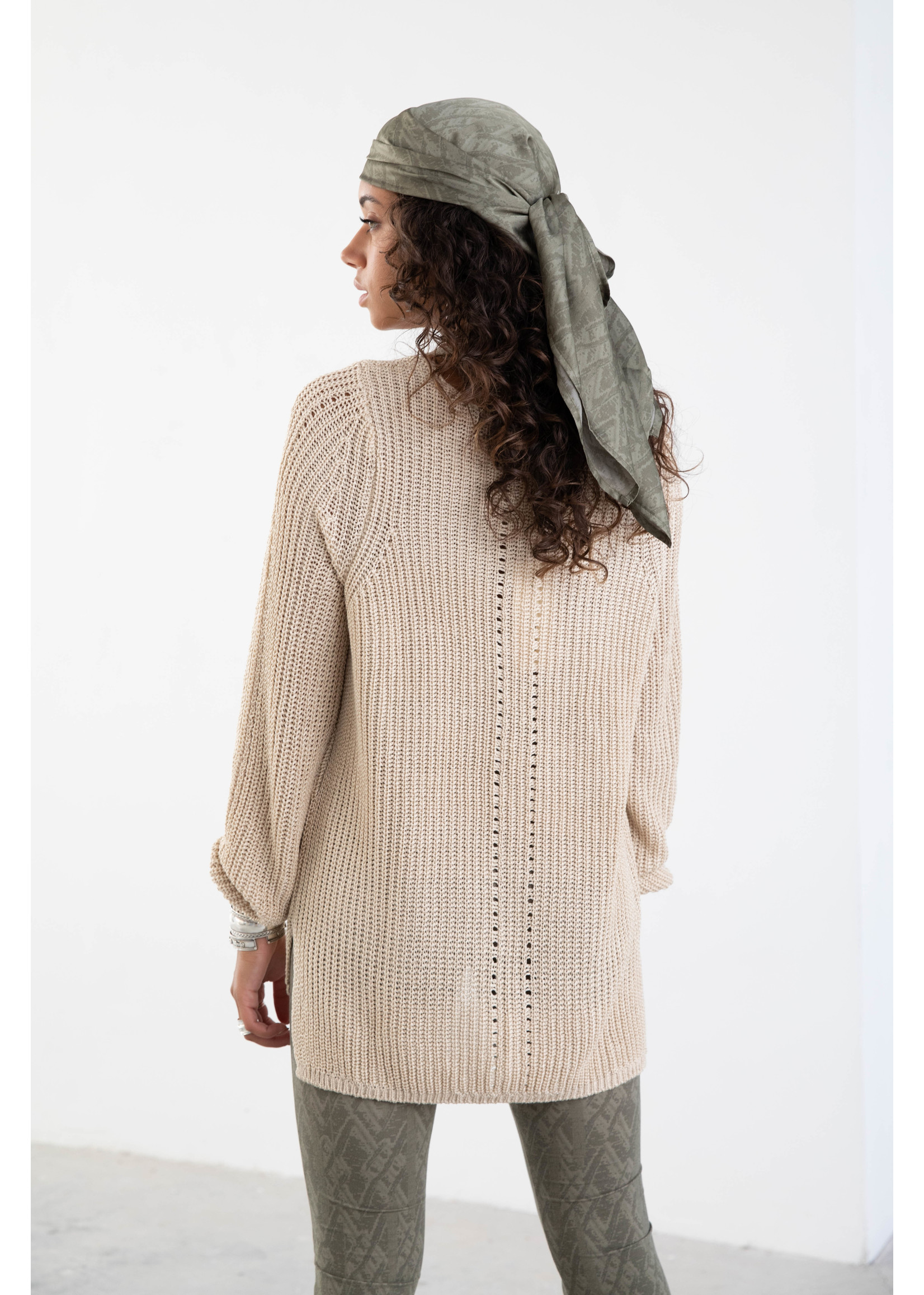 Moost Wanted Leia Knitted Sweater BEIGE