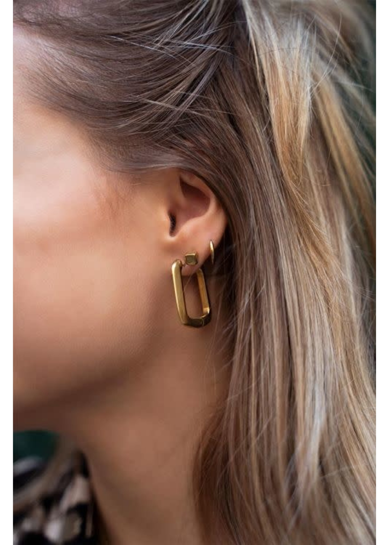 My Jewellery Shapes rechthoekige oorhangers