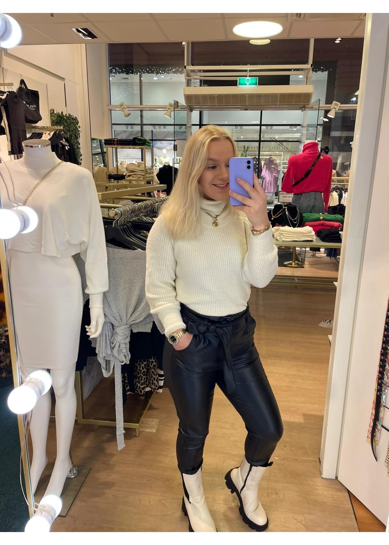 Ladybugs Leather pants Naomi ZWART