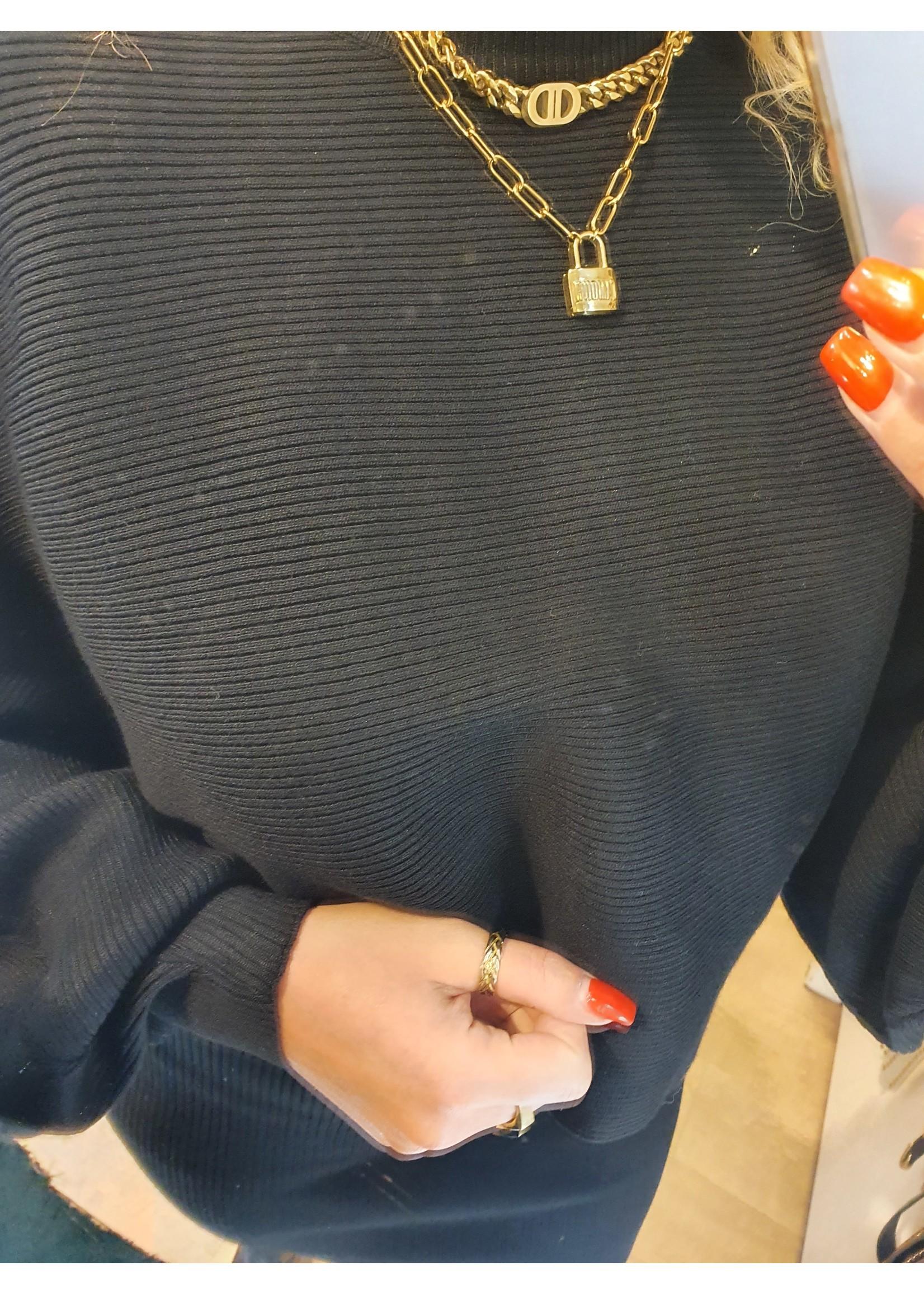 Ladybugs Rib knitwear set Amy ZWART