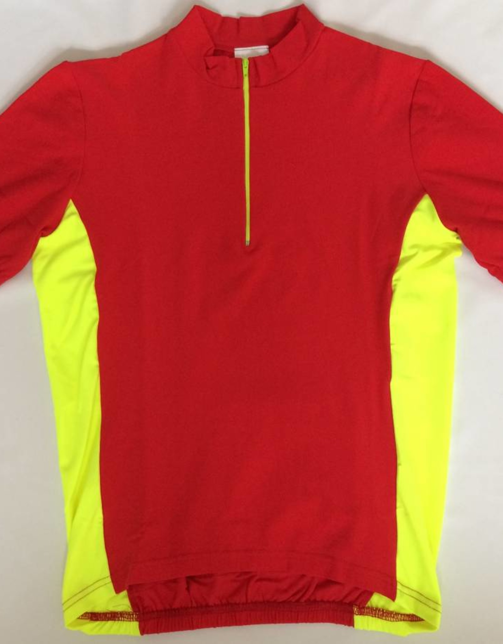 Tudor TS550P Red/Yellow Short Sleeved Road Jersey
